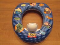 Toy Story - Soft Seat Toilet Trainer. Fits securely on family toilet. Excellent condition. P&S F