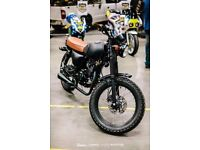Mutt Mongrel 125cc, very low mileage, 6 months old