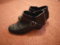 Women's real leather shoes