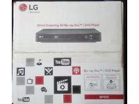 LG 3D Smart Blu-Ray/DVD Player Full HD 1080p (New)