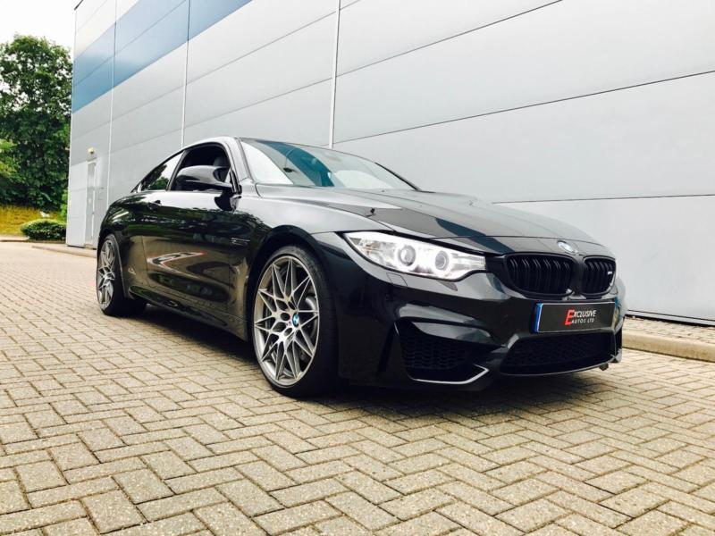 Reg BMW M Bhp Competition Pack M DCT BLACK - Black bmw m4