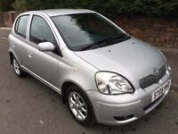 TOYOTA YARIS 1.3 VVT 05 PLATE 40,000 MILES ONE OWNER