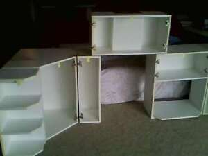 Complete 10' x 12' u-shaped white kitchen - see addt'l photos