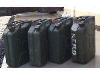 Petrol cans