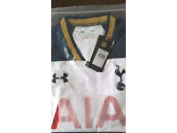spurs 2016/17 home shirt size large
