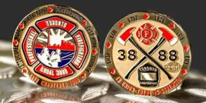 Toronto Fire L3888 Challenge Coin