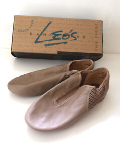 2 Pairs of Leather Jazz Shoes Size 3 Leo & Bloch