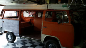 1974 VW Westfalia project