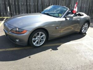 2003 BMW Z4 3.0i, Auto, Leather, Convertible, Only 88, 000km