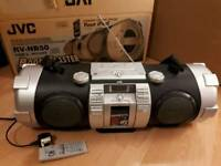 JVC Powered Woofer CD/USB/iPod System