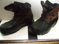 Alpine water proof mens boots