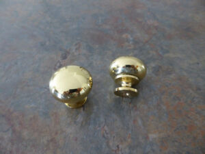 38 gold cabinet knobs