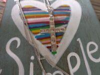 White gold princess cut diamonds 0.70 carat