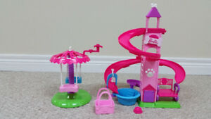 Barbie Slide and Spin Park Play Set