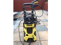 KARCHER PRESSURE WASHER FOR SALE 1800 W. £65 ONLY NEARLY NEW