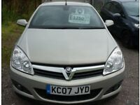 07 VAUXHALL ASTRA TWIN TOP TURBO CONVERTABLE
