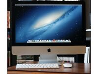 24 inch IMac Deaktop computer with wireless keyboard and mouse very fast machine excellent display