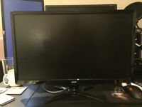 Acer GN246HL monitor - 24 Inch 1080p HD
