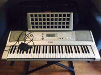 YAMAHA PSR E303 Electronic Keyboard/Stand/Sustain Pedal/Bag
