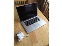 """Apple Macbook Pro 15"""" Retina i7 quad 500GB SSD 16GB RAM CTO full power MINT!!!"""