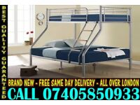 Brand New Bunk .. bed Single Double And Mattress ..CALL NOW Orange Park
