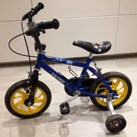 """Raleigh Jet 12"""" Childs Bicycle with removable stabilisers - BRISTOL"""