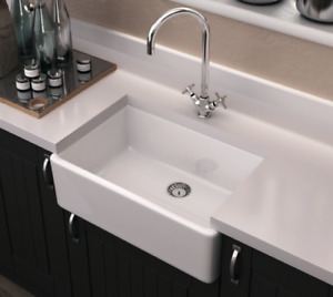 FARMHOUSE SINKS TRUE FIRECLAY  from $540 - Save upto 40% OR MORE