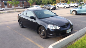 2002 Acura RSX Black