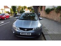 Honda Civic 2006 1.8 VTEC Parking Sensors 77K long service + mot