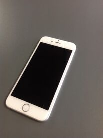 Apple iPhone 6 Plus - 16GB - 02/Giffgaff Network - Silver - 4G - Good Condition - With Receipt