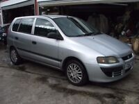 MITSUBISHI SPACE STAR MIRAGE DI-D. SPARES OR REPAIR. ONLY NEEDS A CLUTCH.
