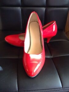 Brand new red heels. Size 10
