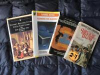 Mixed Classics Books- Set of 4