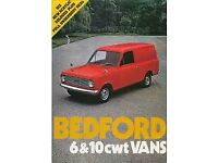 Bedford ha van / viva van wanted.