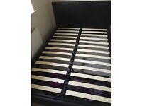 *Double bed frame with very handy storage drawer*