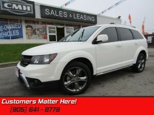 2016 Dodge Journey Crossroad  V6, 7 PASS, NAVIGATION, SUNROOF, C