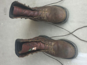 RED WING IRON WORKER BOOTS
