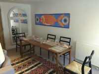Unique rental opportunity in heart of Lewes! A place to stay for a month or more, this is for you!