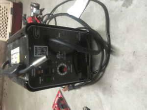 1 welding machine and various tools