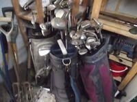 Golf Clubs Joblot