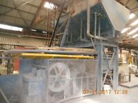 Large Concrete Crusher with Hopper, Baxter of Leeds