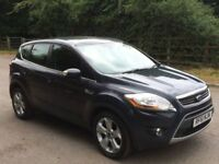 Ford kuga titanium 4x4 power shift auto diesel 3 months warranty 1 owner from new
