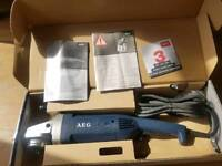 110 aeg grinder new in the box