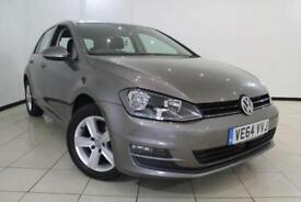 2015 64 VOLKSWAGEN GOLF 1.6 MATCH TDI BLUEMOTION TECHNOLOGY 5DR 103 BHP DIESEL