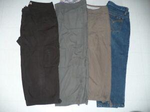 jeans,capris,ens.d'entraînement,bermuda,chemises,chandails