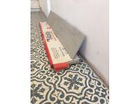 1 box Trendwood Platinum glazed porcelain rectified floor tiles