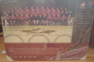 Canada vs the World 1998 wall mount
