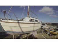 sail boat 21 ft