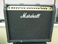 Marshall VS100 and BabyBoom Stereo Reverb Pedal