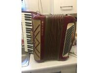 Accordion hohner virtuola 3 accordeon akkordeon melodeon